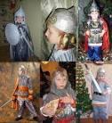 Костюм богатыря для мальчика своими руками фото