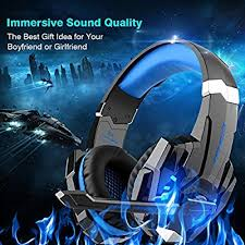 DIZA100 <b>Kotion Each</b> G9000 Gaming Headset Headphone <b>3.5mm</b> ...