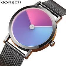 Unique Minimalist Creative <b>Watch</b> Geek Swirl <b>New Fashion</b> Design ...