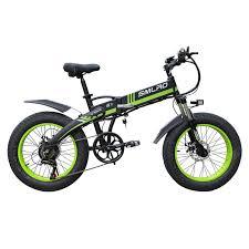 Smlro S9 Electric <b>Bike</b> 20inch 4.0 Fat Tire <b>Aluminum Foldable</b> ...