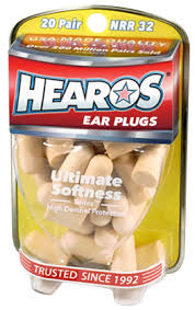Hearos <b>Earplugs Ultimate Softness</b>, 20 Pair - Walmart.com - Walmart ...