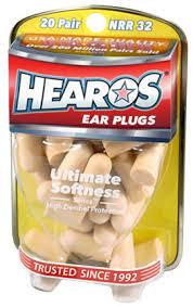 Hearos <b>Earplugs Ultimate</b> Softness, 20 Pair - Walmart.com - Walmart ...
