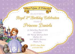 princess sofia birthday invitations ideas bagvania princess sofia and friends birthday invitations