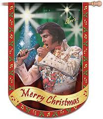 <b>Elvis Presley Merry</b> Christmas Flag: Elvis Home Decor by The ...