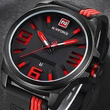 <b>Baogela</b> Mens Black Dial Military Stainless Steel <b>Chronograph</b> ...