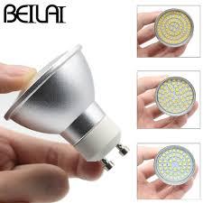BEILAI 10PCS 2835 <b>GU10 LED</b> Spotlight Lampada <b>LED Lamp</b> E27 ...