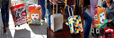<b>Чехол для чемодана</b>. Крутая замена стретч пленке