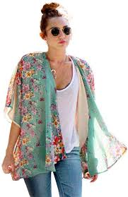 Beautyvan Sweater <b>Coat</b>, Women <b>Boho</b> Floral <b>Printed</b> Chiffon Shawl ...