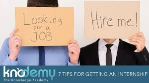 tips for getting an internship tips from knodemy s interns 7 tips for getting an internship tips from knodemy s interns ceo