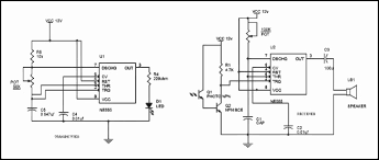 motion detector circuit diagram working and applications shops detector de movimiento con 2 integrados 555 motion detector circuit diagram