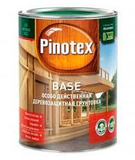 <b>PINOTEX BASE</b> (<b>ПИНОТЕКС</b> БАЗА) <b>грунтовка</b> для защиты ...