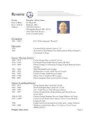 soccer coach resume   template   templatesoccer coach resume