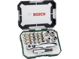 <b>Набор бит BOSCH</b> 26 предметов купить по цене 1499.0 руб. в ОБИ