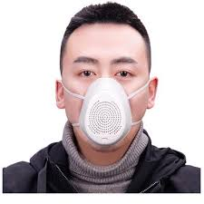 Breathable Filter Haze Silicone Seal <b>Electric Fan</b> Mask <b>Protective</b> ...