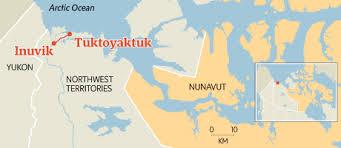 Risultati immagini per tuktoyaktuk road