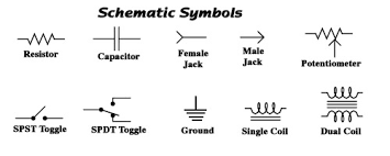 schematic circuit symbols the wiring diagram basic schematic symbols nilza schematic