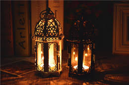 cheap sale black white metal candle holders iron lantern for wedding favors gift home decorations supplies cheap home lighting