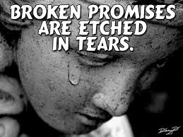 Image result for promise broken
