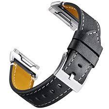 Mornex <b>Leather Strap</b> Compatible Ionic, <b>Classic Genuine Leather</b> ...