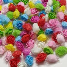 3cm Foam Rose Flowers, <b>Packaging</b> Size: <b>50 Pcs</b>, Rs 150 /<b>packet</b> ...