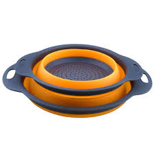 <b>1Pc Silicone</b> Foldable Drain Basket Strainers Creative Retractable ...