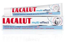 <b>Lacalut Зубная паста Мульти-эффект</b> Multi-effect, 75 мл - купить ...