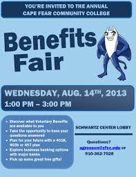 annual employee benefits fair human resources employee flyer 2