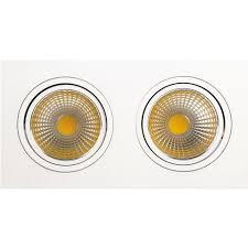 <b>Встраиваемый светодиодный светильник Horoz</b> 2X10W 6400К ...