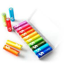 <b>Батарейки алкалиновые</b> Xiaomi <b>ZMi</b> Xiaomi Rainbow ZI5 AA, 10 ...