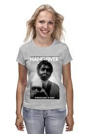<b>Футболка классическая</b> Hangover #672037 – заказать женские ...