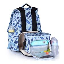 <b>INSULAR mother bag</b> baby <b>diaper bag</b> large capacity with cart ...