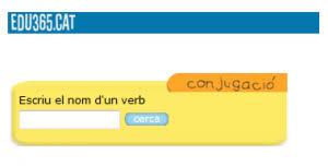 Diccionari de verbs i conjugacions