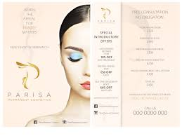 bold playful cosmetics flyer designs for a cosmetics business flyer design design 10176207 submitted to semi permanent make up flyer closed
