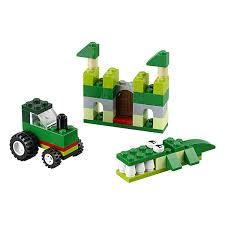 <b>Lego Classic</b>. Зелёный набор для творчества от LEGO, 10708-L ...