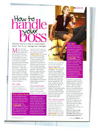 cosmopolitan how to handle your boss article
