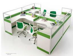 modern office cubicles. modern office furniture 4 person cubicle workstation szws243 cubicles g