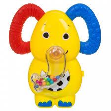 <b>Погремушка Bondibon Игрушка музыкальная</b> Слон с ...