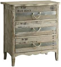 beach blue 3 drawer dresser with rope handles see all furniture at carons beach house beach theme furniture 1000