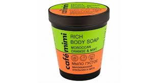 Купить <b>Cafe Mimi мыло густое</b> для тела Марокканский апельсин и ...