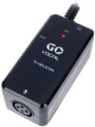 <b>TC Helicon</b> Go Vocal USB <b>аудио интерфейс</b> для <b>мобильных</b> ...
