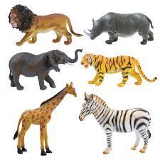 1 шт., <b>игрушки</b> животных из зоопарка, коллекция животных, ПВХ ...