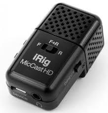 Купить <b>микрофон IK Multimedia</b> iRig Mic Cast HD (IP-IRIG ...