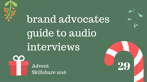 brand advocates guide to audio interviews philip dm campbell about this class