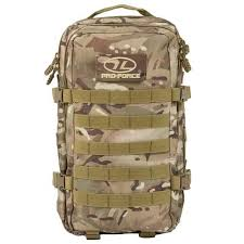 Camping & Hiking Equipment Highlander Pro-Force Recon 40L ...