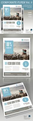 best ideas about flyer design graphic design buy corporate flyer vol 3 by paulnomade on graphicriver modern and clean design for flyer or poster perfect for pr agency or other business promotion