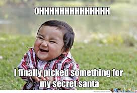 Secret Santa by missdiana - Meme Center via Relatably.com