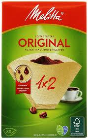 <b>Melitta</b> Original, Brown <b>фильтры</b> для заваривания <b>кофе</b>, 1х2/80 ...