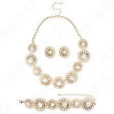 Ожерелье с <b>Браслетом</b> и Серьгами Laura Amatti «Ночное ...