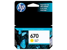 <b>HP 670</b> Yellow Original Ink Advantage Cartridge | HP® Caribbean