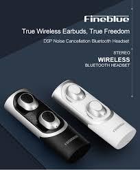 <b>Fineblue RWS X8 twins Bluetooth</b> 5.0 Earphone Mini Wireless Small ...